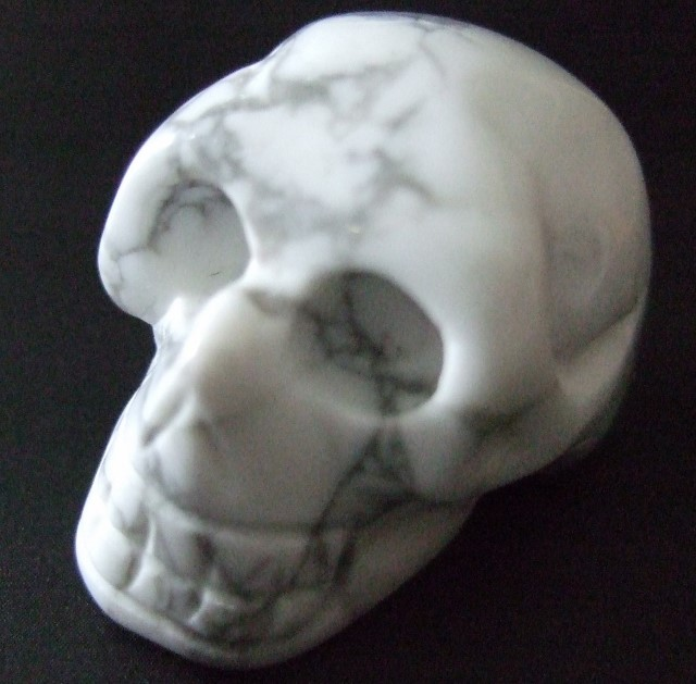 Skull, Howlite Out of stock The Crystal People Crystal Shop online store (Christchurch and ...
