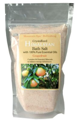 Salt Lamps Chch : Grapefruit Himalayan Bath Salts The Crystal People Crystal Shop online store (Christchurch and ...