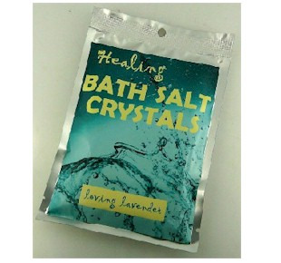 Loving Lavender Bath Salts The Crystal People Crystal Shop online store (Christchurch and ...
