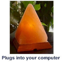 USB Himalayan Salt Lamp Out of Stock The Crystal People Crystal Shop online store ...